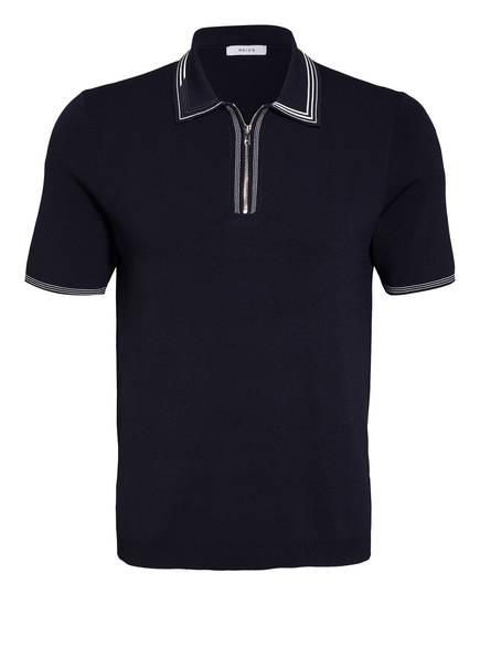 REISS Strick-Poloshirt STETSON Slim Fit, Farbe: DUNKELBLAU (Bild 1)