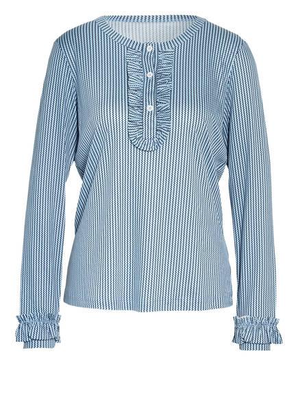 CALIDA Lounge-Shirt , Farbe: HELLBLAU/ DUNKELBLAU (Bild 1)