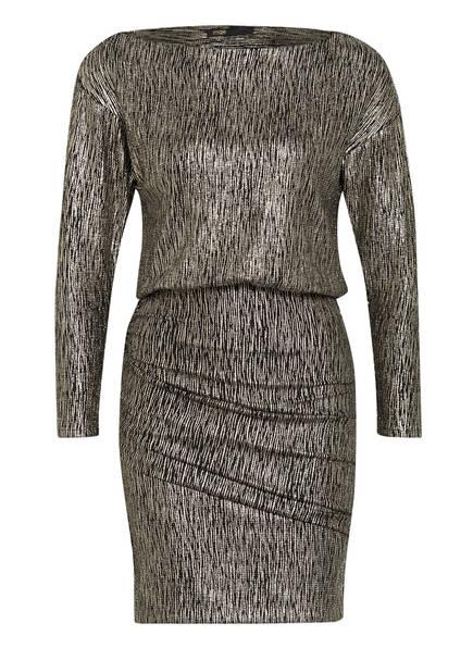 maje Kleid RILEXY mit Glitzergarn, Farbe: GOLD/ SCHWARZ (Bild 1)
