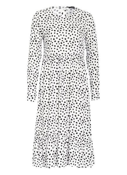 ONE MORE STORY Kleid, Farbe: WEISS/ SCHWARZ (Bild 1)