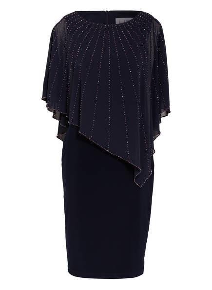 Joseph Ribkoff Kleid mit Schmucksteinbesatz , Farbe: DUNKELBLAU (Bild 1)
