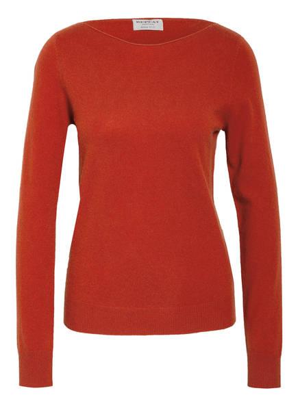 REPEAT Cashmere-Pullover, Farbe: DUNKELORANGE (Bild 1)
