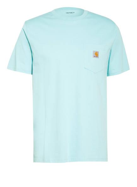carhartt WIP T-Shirt, Farbe: HELLBLAU (Bild 1)