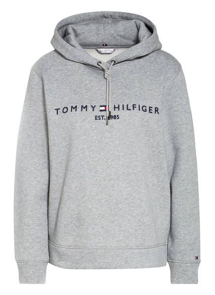 TOMMY HILFIGER Hoodie ESSENTIAL, Farbe: HELLGRAU MELIERT (Bild 1)