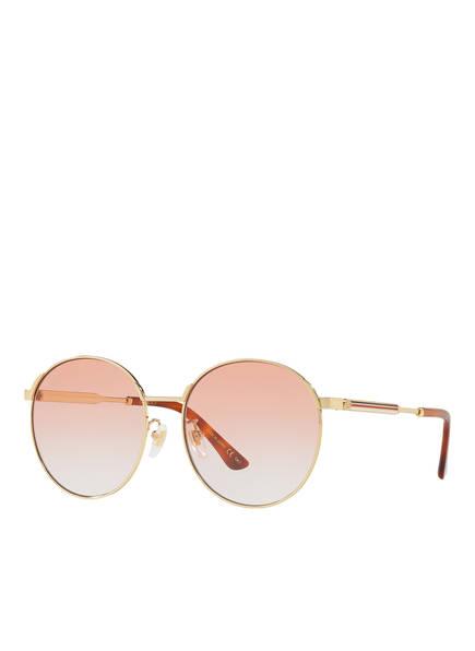 GUCCI Sonnenbrille GC001113, Farbe: 2330P2 - GOLD/ ROSA VERLAUF (Bild 1)