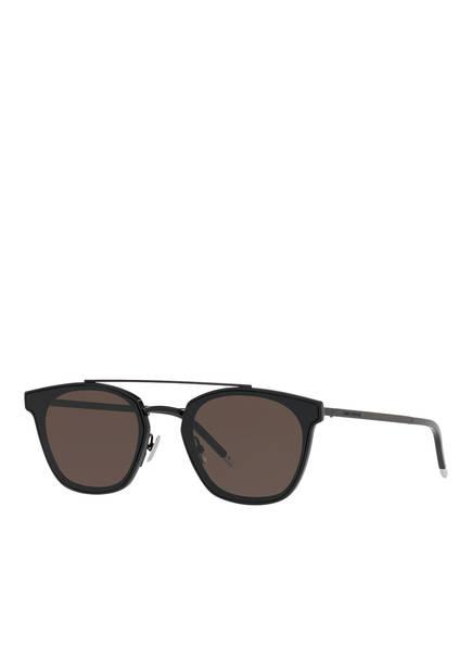 SAINT LAURENT Sonnenbrille SL 28 003, Farbe: 1220L1 - SCHWARZ/ BRAUN (Bild 1)