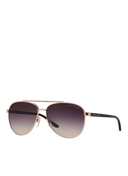 MICHAEL KORS Sonnenbrille MK5007, Farbe: 109936 - ROSÉGOLD/ TAUPE VERLAUF (Bild 1)