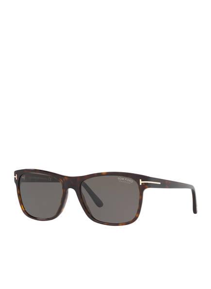 TOM FORD Sonnenbrille TR001050 GIULIO, Farbe: 4402M1 - HAVANA/ GRAU POLARISIERT (Bild 1)