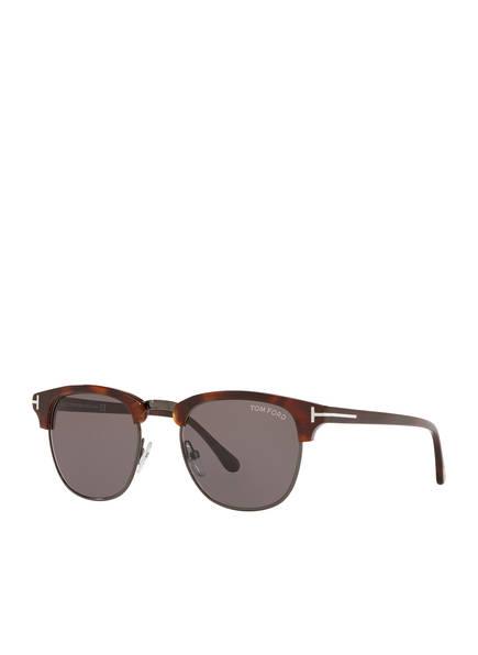 TOM FORD Sonnenbrille TR000154 HENRY, Farbe: 4510D4 - HAVANA/ GRAU (Bild 1)
