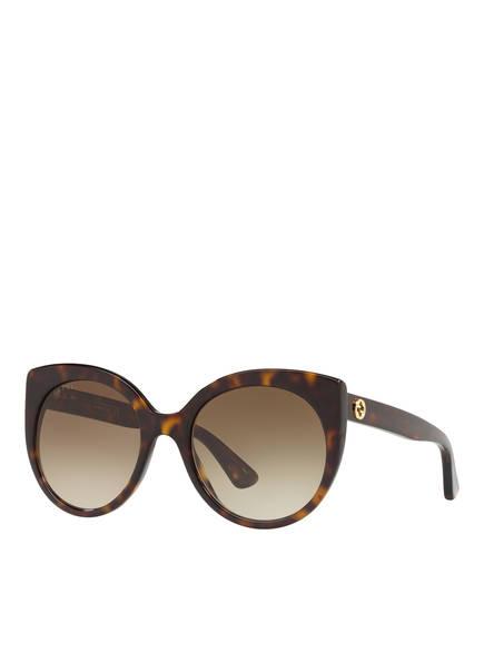 GUCCI Sonnenbrille 0GC001148, Farbe: 4402D4 - HAVANA/ BRAUN (Bild 1)