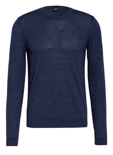 BOSS Pullover LENO-P, Farbe: BLAU MELIERT (Bild 1)