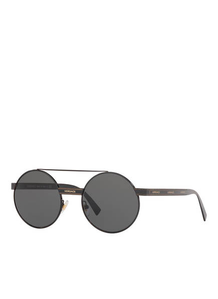 VERSACE Sonnenbrille VE2210, Farbe: 100987 - SCHWARZ/ GRAU (Bild 1)