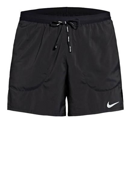 Nike Laufshorts FLEX STRIDE mit Mesh-Einsätzen, Farbe: SCHWARZ (Bild 1)