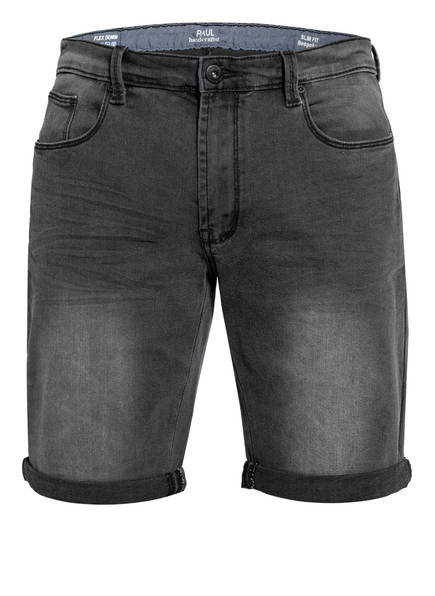 PAUL Jeans-Shorts Slim Fit, Farbe: DUNKELGRAU (Bild 1)