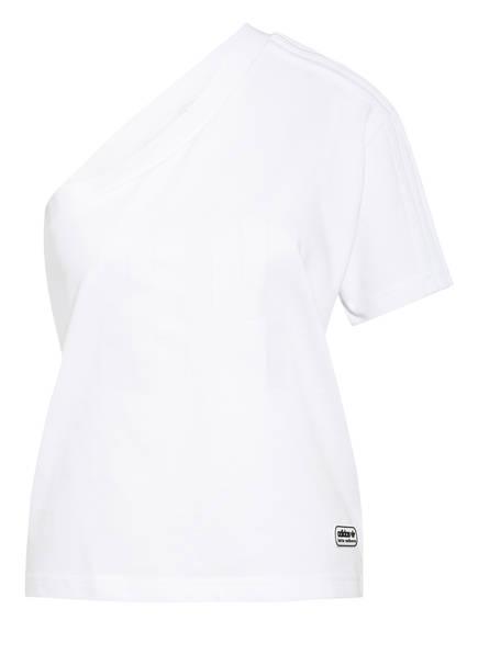 adidas Originals One-Shoulder-Shirt RINGER, Farbe: WEISS (Bild 1)