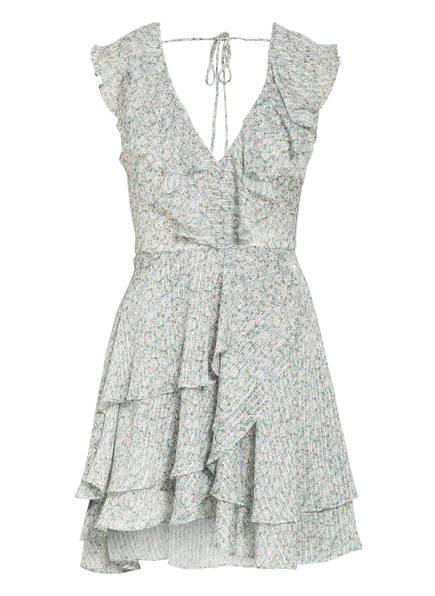 BARDOT Kleid BLOOM FLUTTER, Farbe: WEISS/ HELLGRÜN/ HELLBLAU (Bild 1)