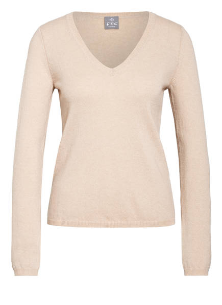 FTC CASHMERE Cashmere-Pullover , Farbe: ECRU (Bild 1)