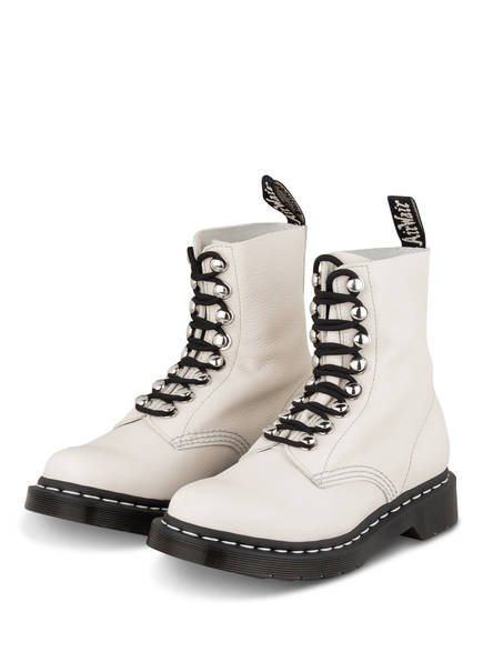 Dr. Martens Schnürboots 1460 PASCAL, Farbe: CREME (Bild 1)