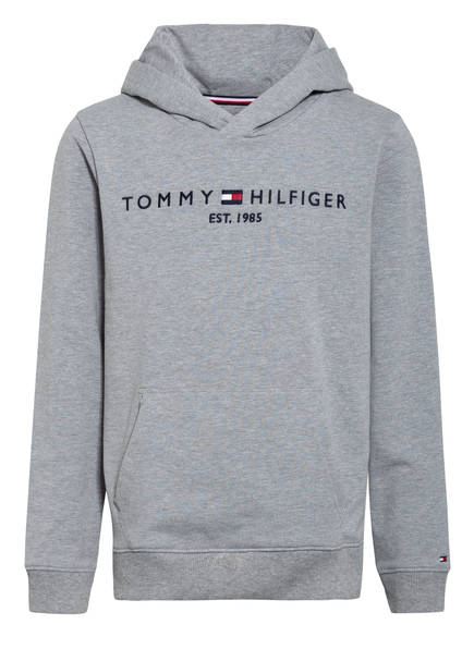 TOMMY HILFIGER Hoodie, Farbe: GRAU MELIERT (Bild 1)