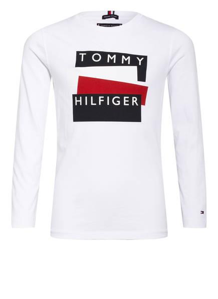 TOMMY HILFIGER Longsleeve, Farbe: WEISS (Bild 1)