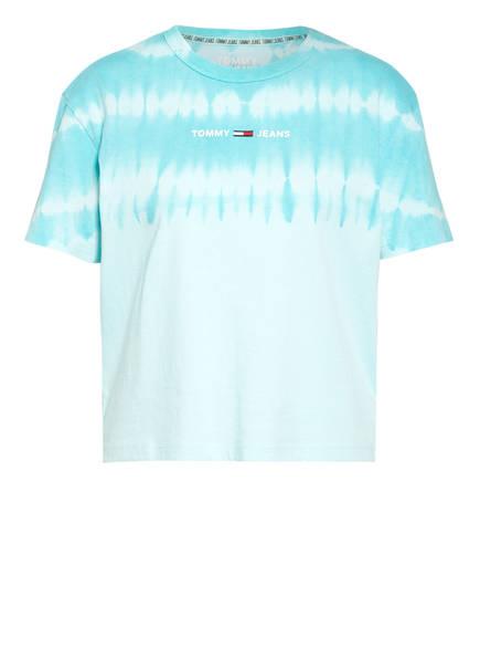 TOMMY JEANS T-Shirt, Farbe: HELLBLAU/ TÜRKIS (Bild 1)