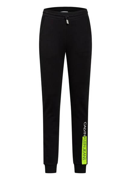 Calvin Klein Hose im Jogging-Stil, Farbe: SCHWARZ (Bild 1)