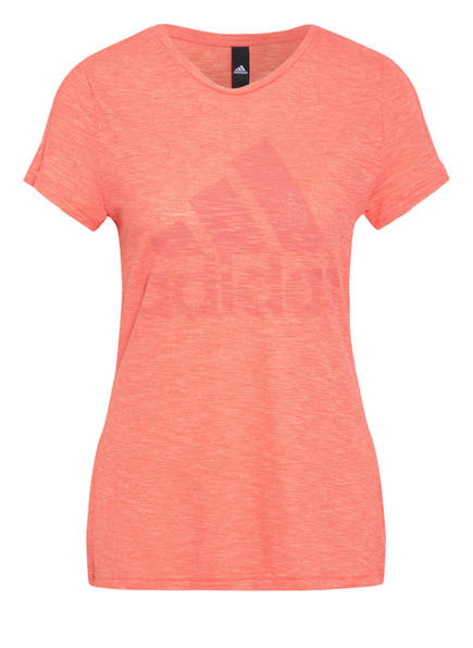 adidas T-Shirt WINNERS TEE, Farbe: ORANGE MELIERT (Bild 1)