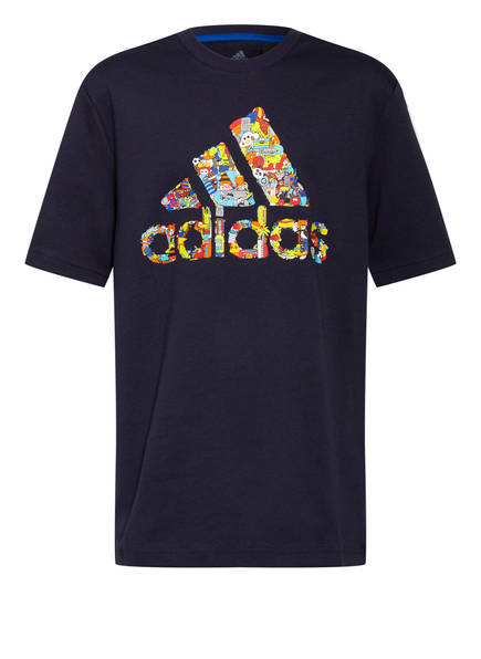 adidas T-Shirt CLEOFUS, Farbe: DUNKELBLAU (Bild 1)