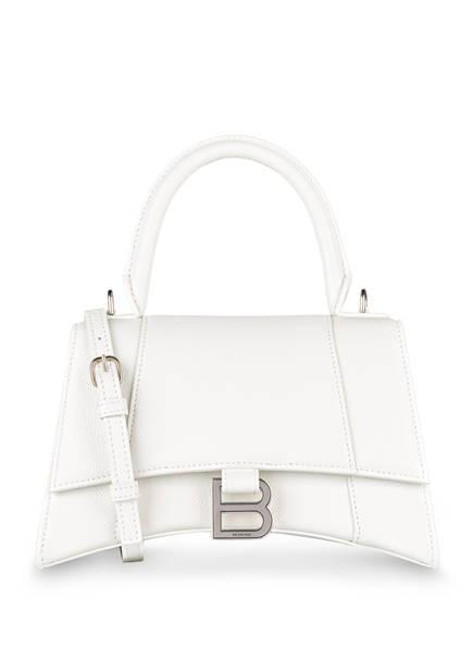 BALENCIAGA Handtasche HOURGLASS S, Farbe: WEISS (Bild 1)