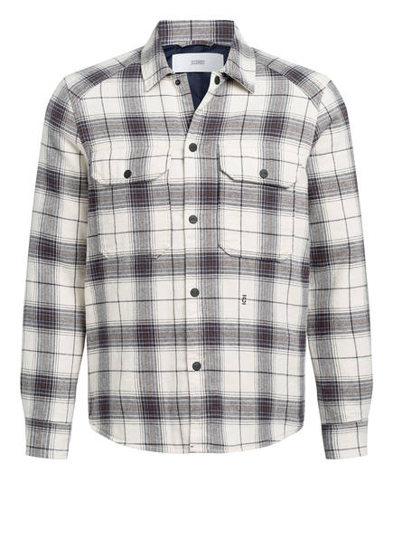 CLOSED Overshirt, Farbe: ECRU/ DUNKELLILA (Bild 1)
