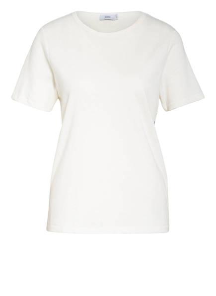 CLOSED T-Shirt mit Leinen, Farbe: ECRU (Bild 1)