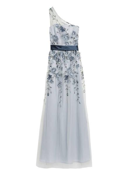 Chi Chi LONDON One-Shoulder-Abendkleid LORETTA, Farbe: BLAUGRAU (Bild 1)