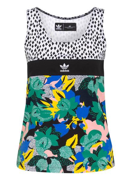 adidas Originals Top, Farbe: SCHWARZ/ GRÜN/ BLAU (Bild 1)