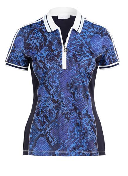 SPORTALM Poloshirt, Farbe: DUNKELBLAU/ BLAU/ WEISS (Bild 1)