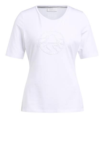 SPORTALM T-Shirt mit Paillettenbesatz, Farbe: WEISS (Bild 1)