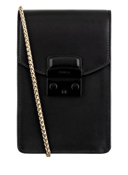 FURLA Smartphone-Tasche METROPOLIS, Farbe: SCHWARZ (Bild 1)