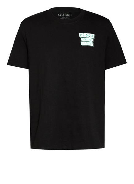 GUESS T-Shirt, Farbe: SCHWARZ (Bild 1)