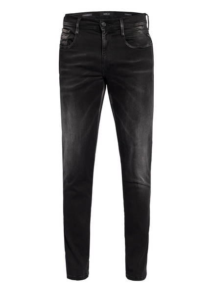 REPLAY Jeans ABASS HYPERFLEX BIO Slim Fit, Farbe: 098 BLACK (Bild 1)
