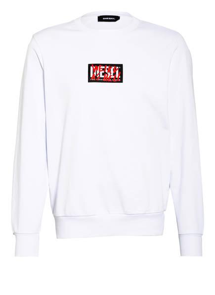 DIESEL Sweatshirt S-GIRK-X5, Farbe: WEISS (Bild 1)