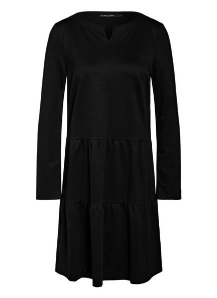 MARC CAIN Kleid mit Volantbesatz, Farbe: 900 BLACK (Bild 1)