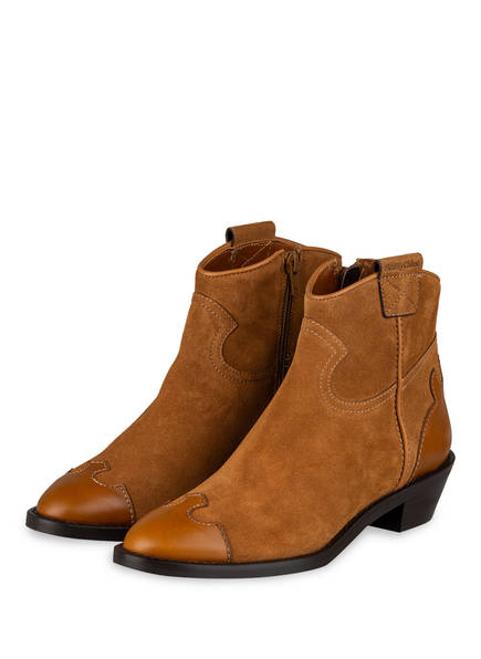 SEE BY CHLOÉ Cowboy Boots TEXAN, Farbe: BRAUN (Bild 1)