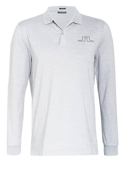 J.LINDEBERG Jersey-Poloshirt Regular Fit, Farbe: HELLGRAU MELIERT (Bild 1)