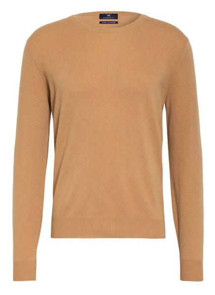STROKESMAN'S Cashmere-Pullover, Farbe: CAMEL (Bild 1)