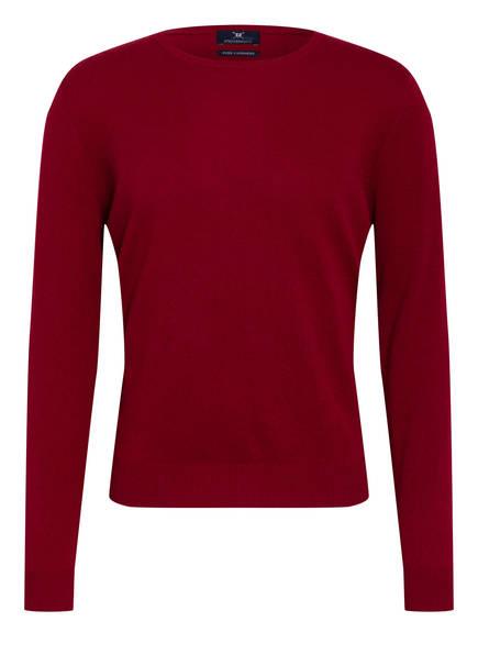 STROKESMAN'S Cashmere-Pullover, Farbe: DUNKELROT (Bild 1)