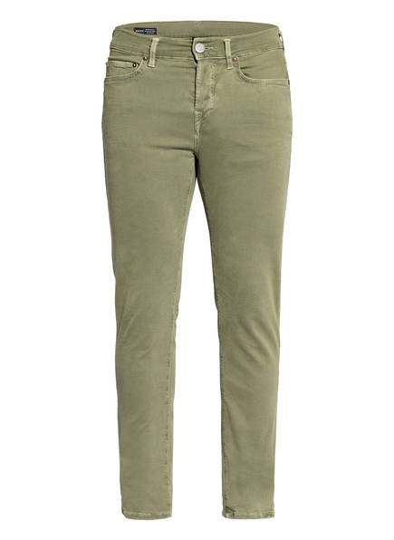 TRUE RELIGION Jeans ROCCO Relaxed Skinny Fit, Farbe: 3120 DEEP GREEN	 (Bild 1)