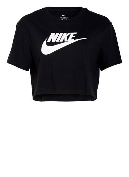 Nike Cropped-Shirt ESSENTIAL, Farbe: SCHWARZ/ WEISS (Bild 1)