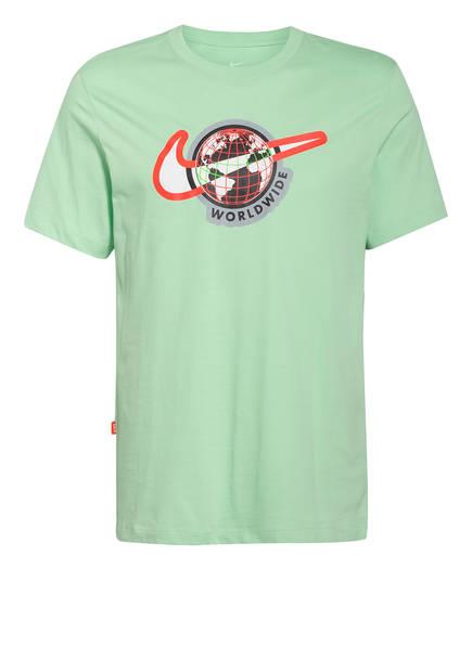 Nike T-Shirt, Farbe: HELLGRÜN (Bild 1)