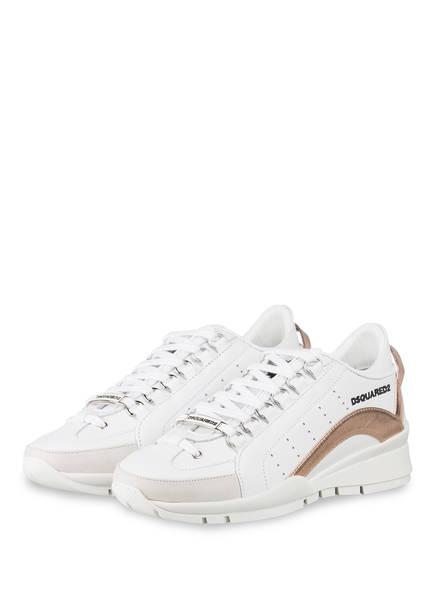 DSQUARED2 Sneaker 551, Farbe: WEISS (Bild 1)