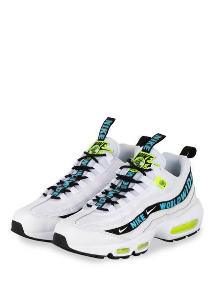 Nike Sneaker AIR MAX 95, Farbe: WEISS/ BLAU (Bild 1)