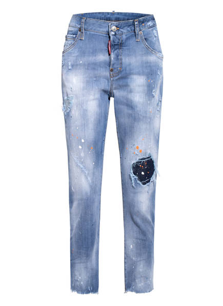 DSQUARED2 Destroyed Jeans COOL GIRL, Farbe: 470 BLUE (Bild 1)